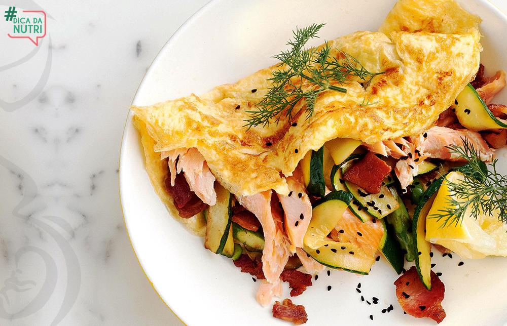 4 receitas de omelete rápidas e saborosas