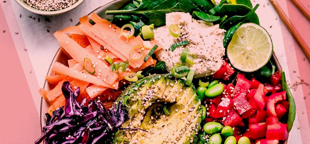 Um prato colorido é mais saudável e atrativo