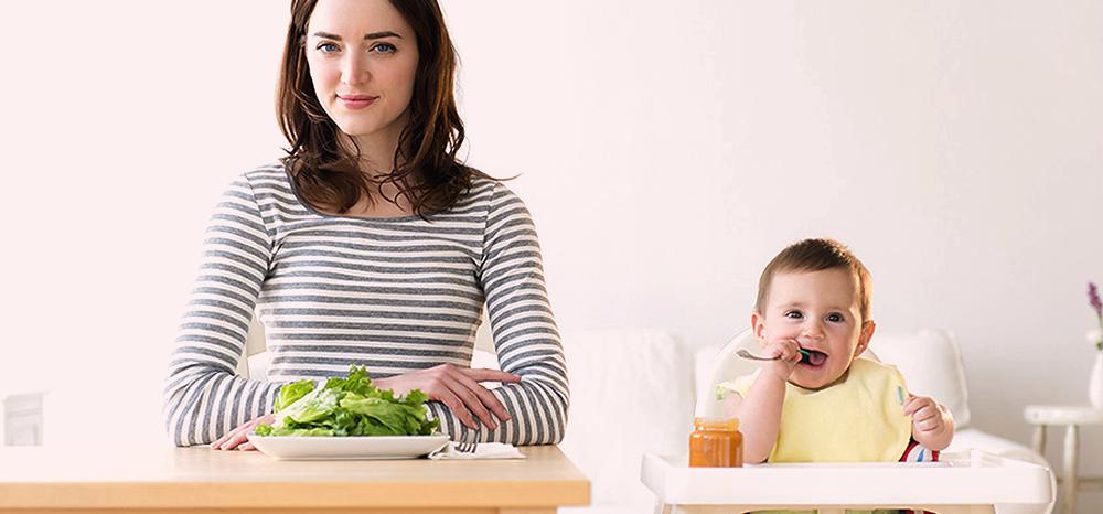 Como a alimentação da mãe interfere na saúde do filho